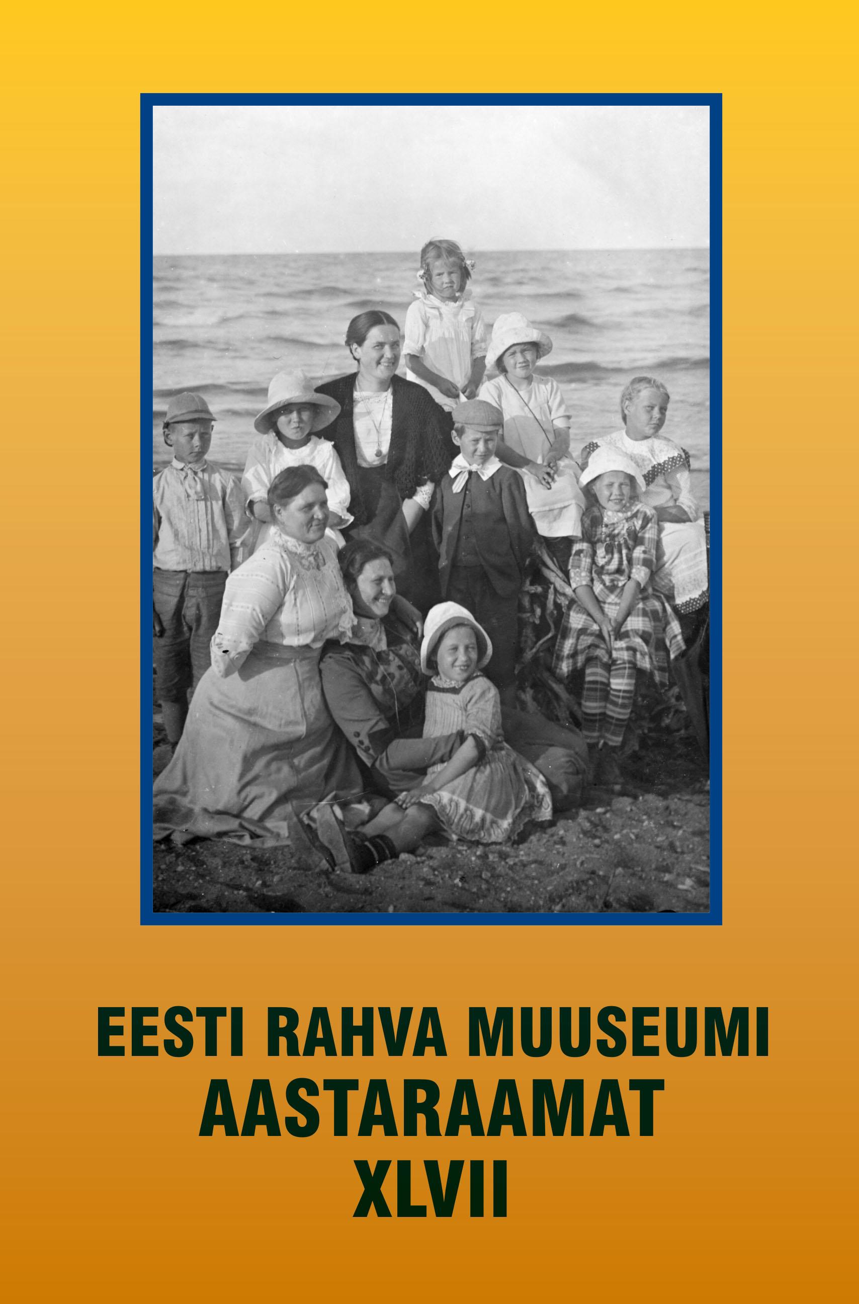 View No. 47 (2003): Eesti Rahva Muuseumi aastaraamat